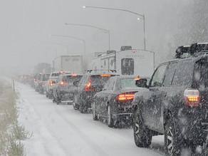 En images : le grand retour de la neige aux États-Unis !