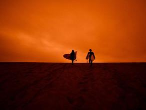 En images : San Francisco dans le rouge