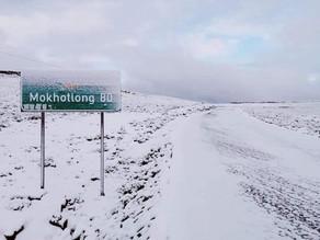 Le Lesotho sous la neige !