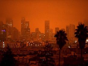 Pourquoi le ciel est devenu orange à San Francisco ?