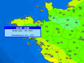 Fraicheur : un record presque battu à Brest