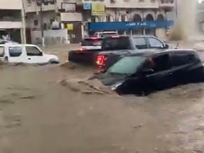 Les images impressionnantes de La Mecque inondée après de violents orages