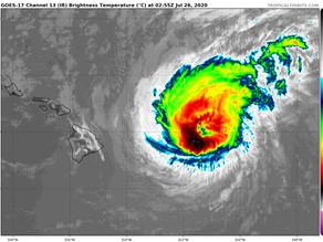Douglas va frapper l'archipel d'Hawaï