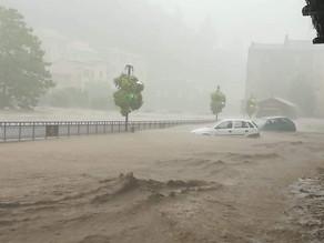 🛑 Graves inondations en cours dans le sud-est