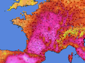 Près de 40°C à Albi cet après-midi !