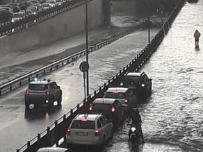 Des inondations dans les Pouilles en Italie