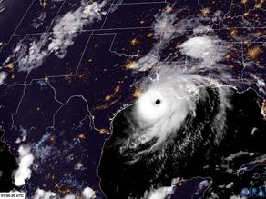 Catégorie 4 pour l'ouragan Laura