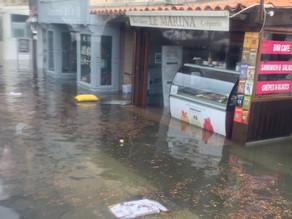 Bonifacio : une «seiche» responsable de la montée des eaux