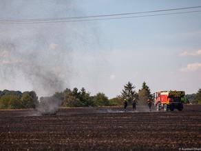 Oise : un dust devil photographié lors d'un incendie