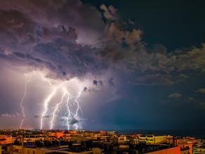 La France, c'est 250 jours d'orages par an !
