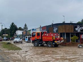 Orthez : inondations après un orage violent