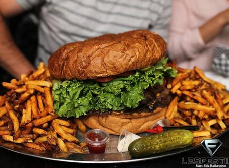 Le plus gros burger de tout le Canada se trouve dans la ville de Québec