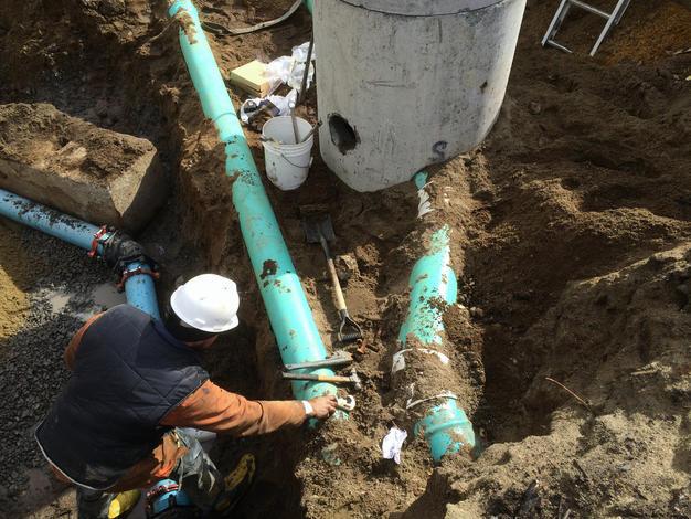 Inspection pour nettoyage de drain français à Québec | Excavation Bruno Levesque