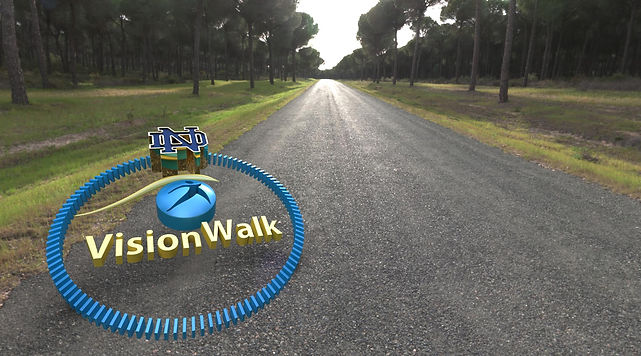 2014 Visionwalk fundraiser by the Notre Dame Biology Club