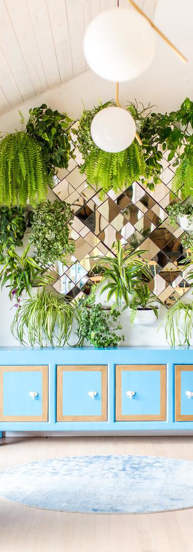 Reflective Garden Wall