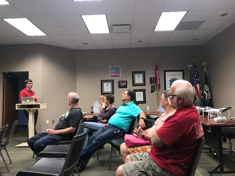 Community Outreach: Founders of B&C Aerial Solutions Meet with Local EAA Chapter
