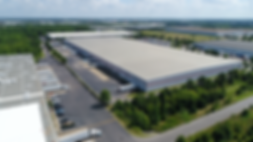 Commercial Drone Roof Top Inspection of Warehouse