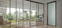 Aluminium and uPVC  Doors and Windows, sliding system, aluminium slim profile