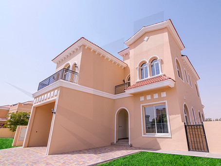 The Villa in DUBAI LAND Residence Complex