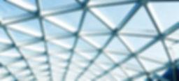 curved steel glazing skylight