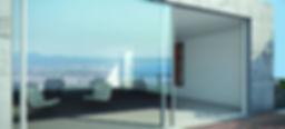 luxury minimalistic aluminium slim profile