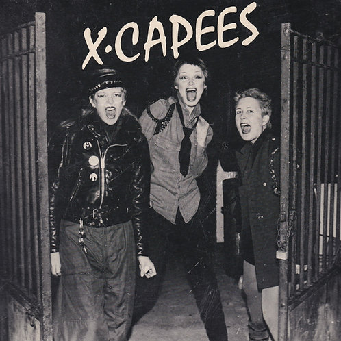 X.CAPEES - A San Francisco Punk Photo Documentary (signed)