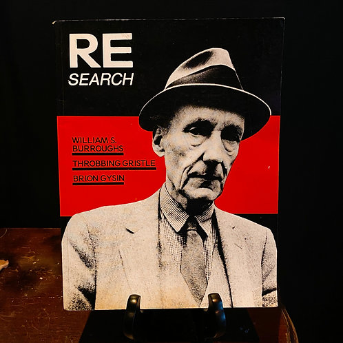 RE SEARCH - William S Burroughs - Throbbing Gristle - Brion Gysin