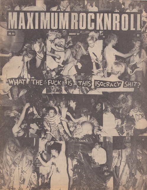Maximum Rocknroll - No 51
