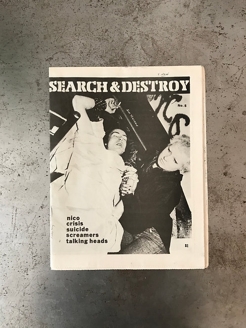 SEARCH & DESTROY #5 -1978