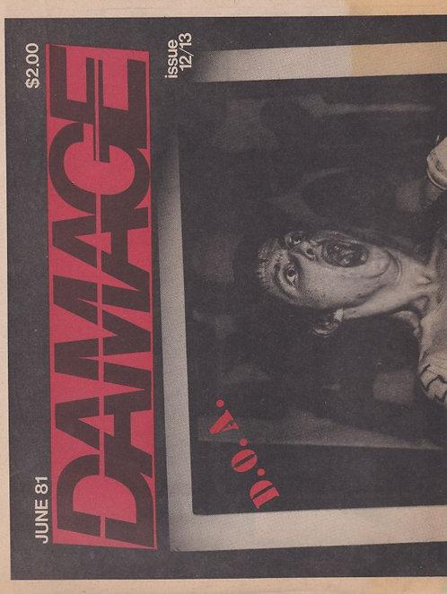 Damage #12/13 1981