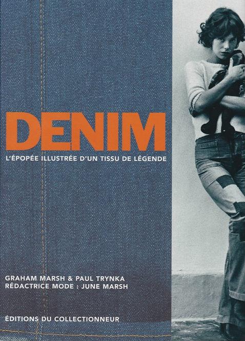 DENIM - L'épopée illustrée d'un tissu de légende