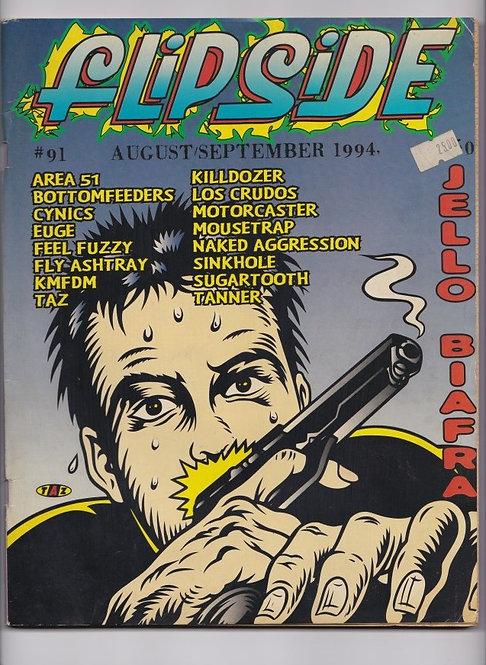 Flipside magazine #91