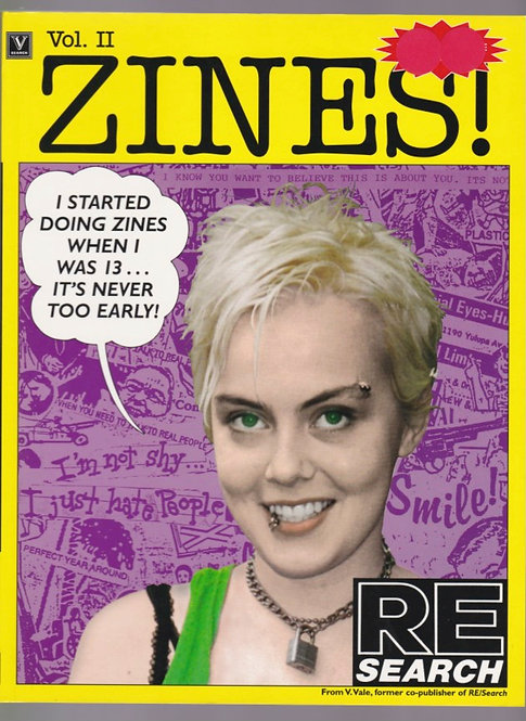 ZINES! VOL 2 RE/SEARCH