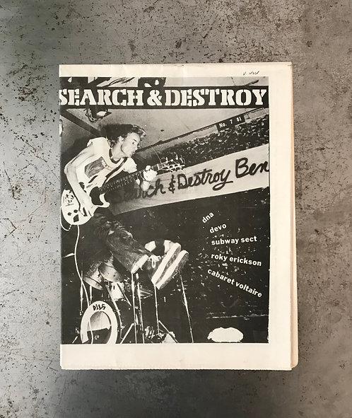 SEARCH & DESTROY #7 - 1978
