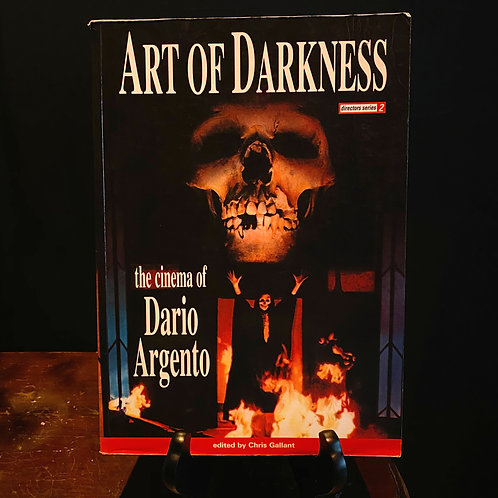 Art of Darkness the cinema of Dario Argento