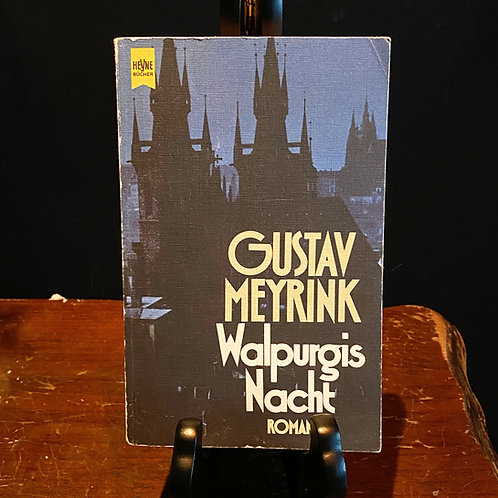 Walpurgis Nacht - Gustav Meyrink