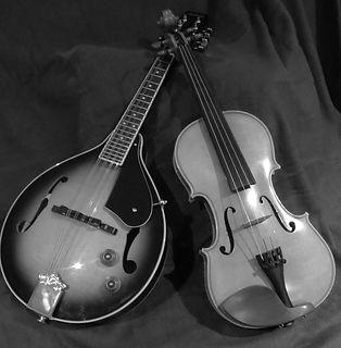 Mandolin and fiddle copyright Natalie Park 2017