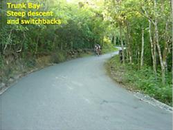 Bike course hazard #2
