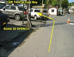 Through Cruz Bay