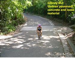 Bike course hazard #3
