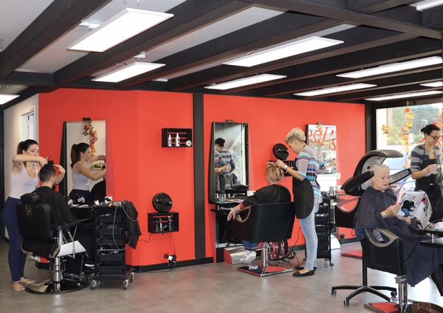 Places de coiffure