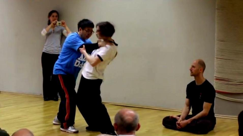 Tajvanski kung fu trenerji v Evropi