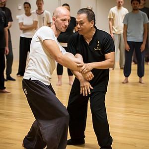 Trening z mojstrom Lau Kung Kingom