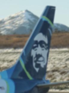 Alaska Air Eskimo Tail Livery | Ketchikan Tours