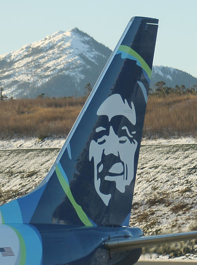 Alaska Air Eskimo Tail Livery | Ketchikan Tours