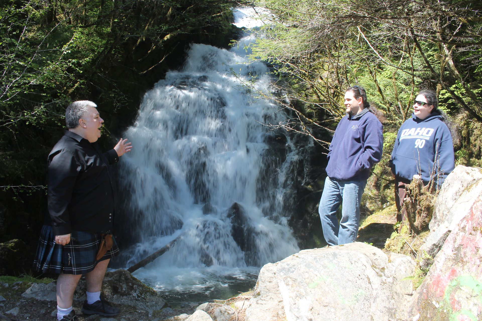 Ketchikan Tours | Waterfall