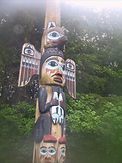 Fog Woman Totem Pole
