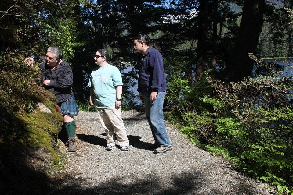 Ketchikan Tours | Hiking a trail