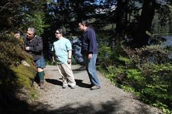 Ketchikan Tours | Hiking a trail