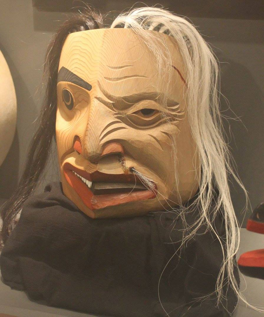 Ketchikan Tours | Two-faced mask
